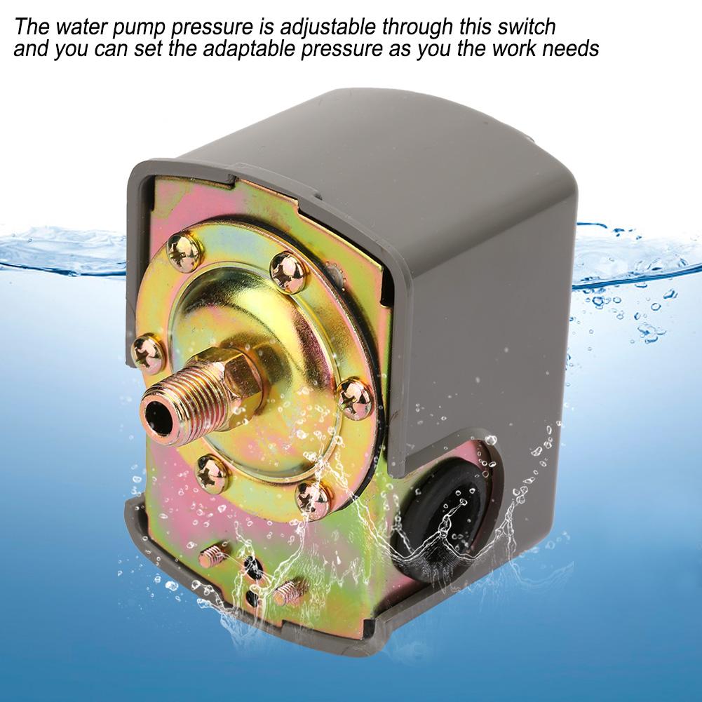 Wasser Pumpe Steuerung Druckschalter Hauswasserwerk Druckkessel Druckwächter NEU