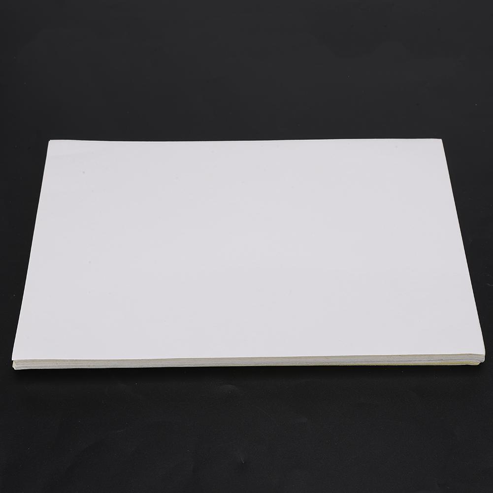 80 Blatt A4 Papier Druckerpapier Kopierpapier Aufkleber Etikett weiß Laserpapier