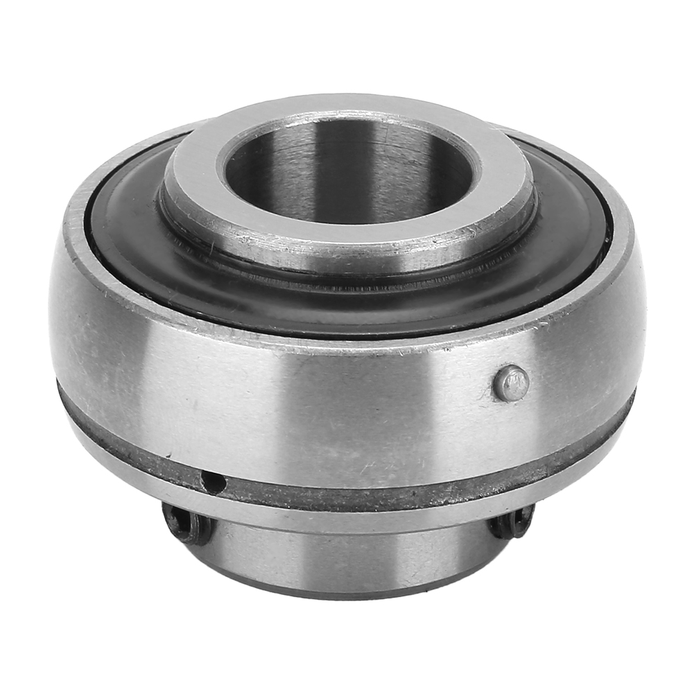 2x High Quality Insert Mounted Ball Steel Bearing 25x52x34.1mm//0.98x2.05x1.34in