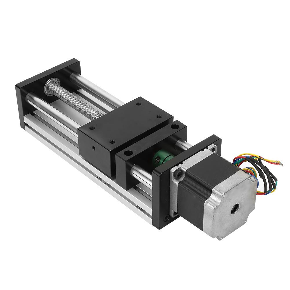 Linearantrieb Spindelantrieb Kugelumlaufspindel 500mm mit Nema23 Schrittmotor DE