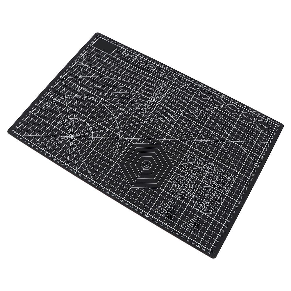 Profesional A3 Estera De Corte autorreparación Impreso Cuadrícula estructura de superficie antideslizante