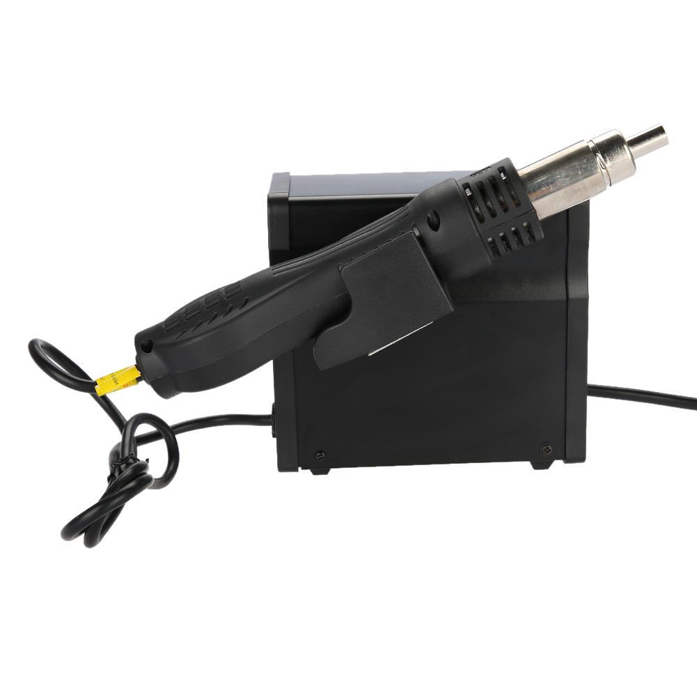 stazione di saldatura 700W LCD Pistola Termica Aria Calda Regolabile digitale