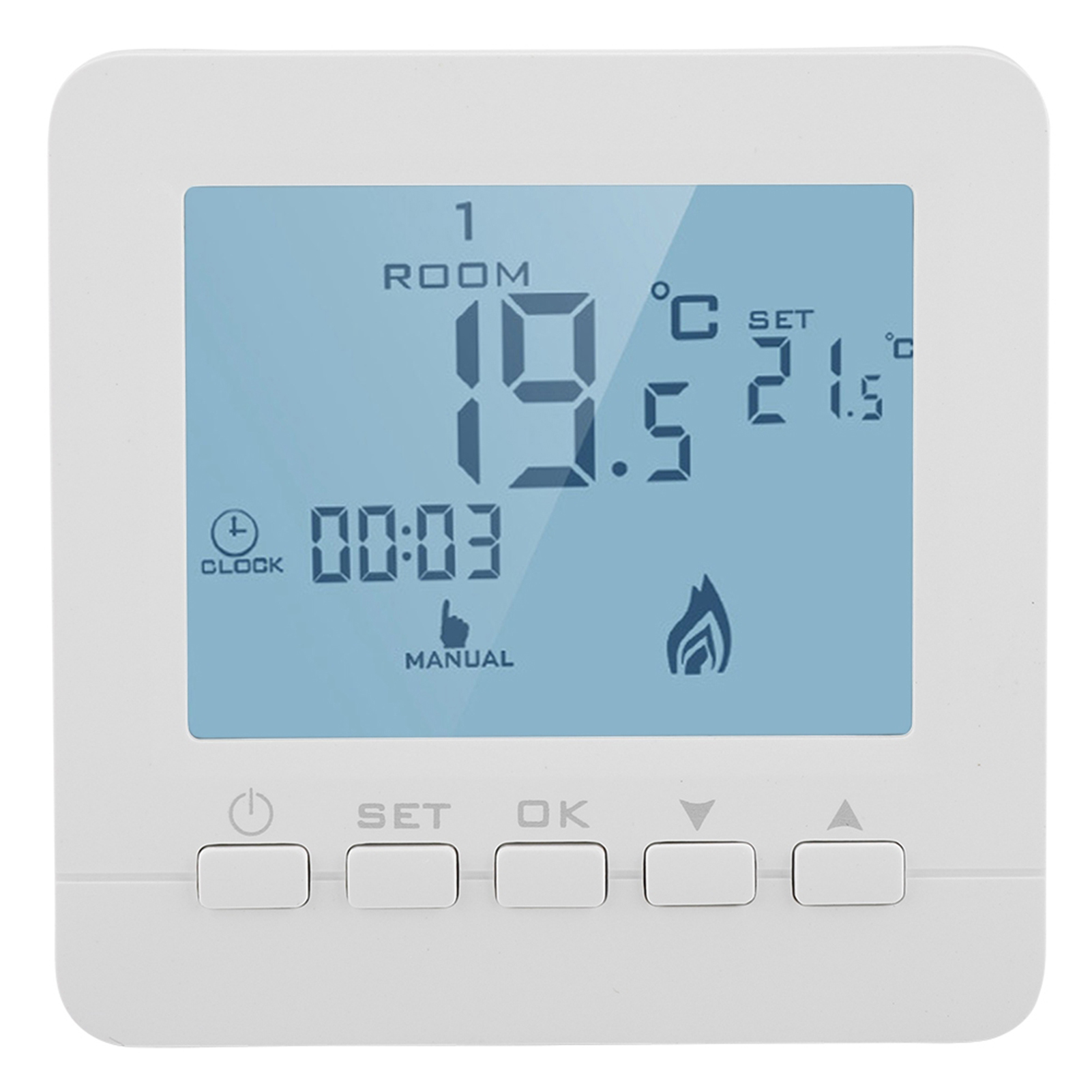 Programmable WiFi Smart Thermostat for Water//Electric Room Underfloor Heating