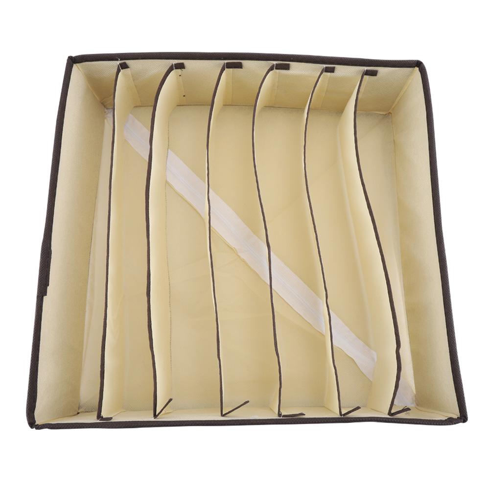 6//7//8//24 Grids Storage Box Closet Underwear Ties Organizer Socks Drawer Divider