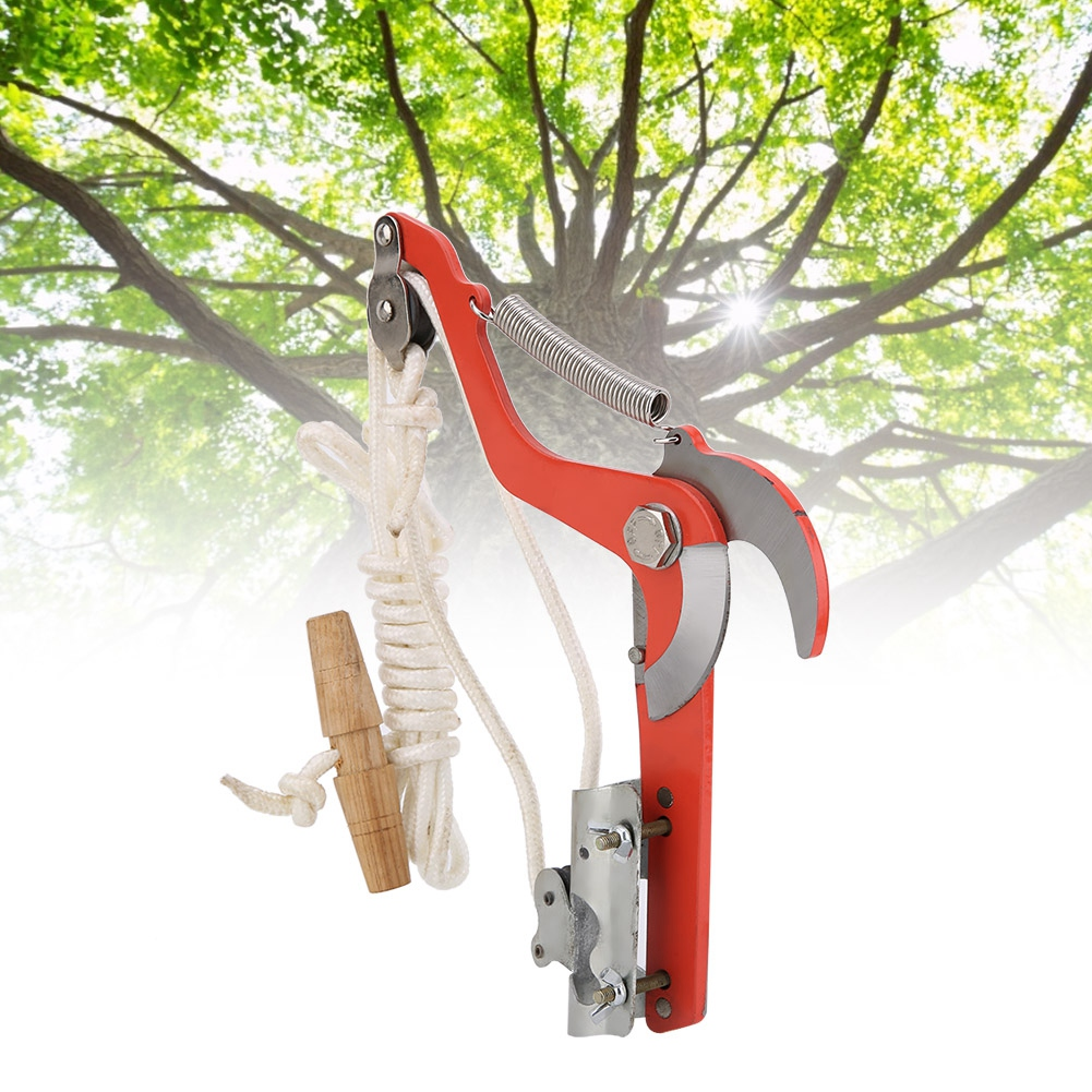 High-altitude Telescopic Pruning Shears Saw Garden Agricultural Tool w//Pulleys