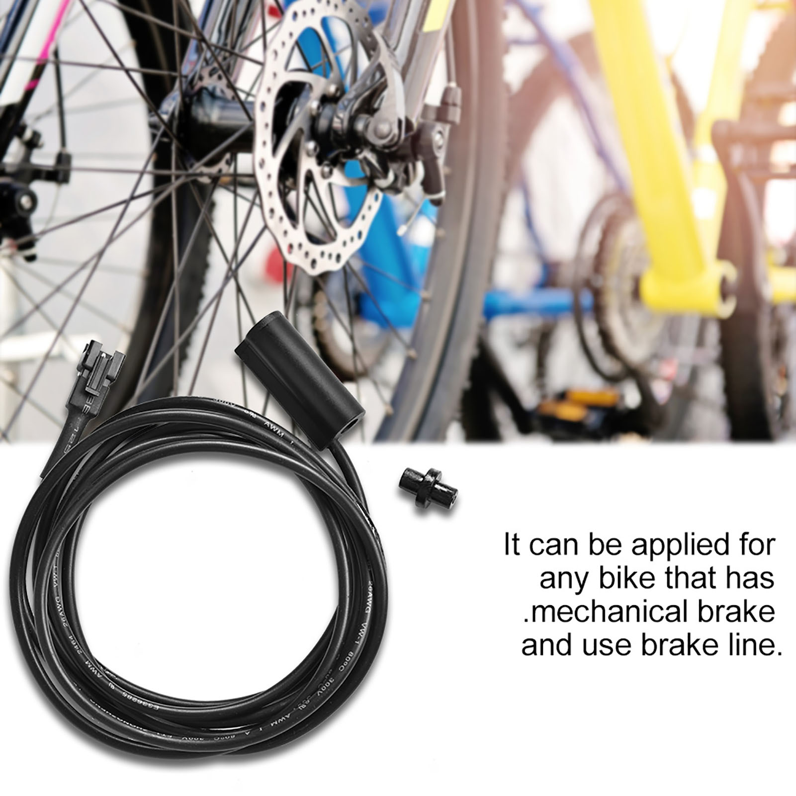 Mechanical Brake Cut Off Sensor Switch Cable For Electric Mountain Bike Ebike ZH