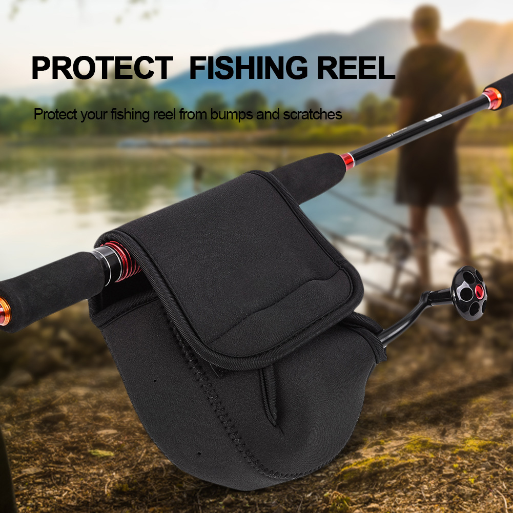 Fishing Reel Bag Protective Cover Baitcasting Spinning Reel Case Accessories SP