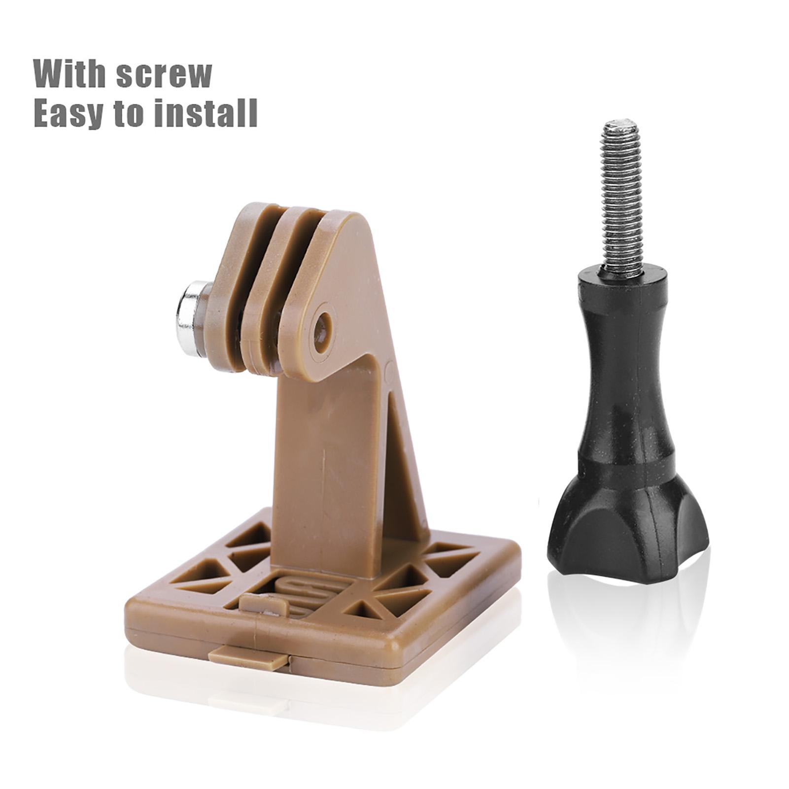 Adaptador de montaje de cámara de seguimiento Helmet Para Sony VCT-STG1 para Gopro Negro Marrón Co