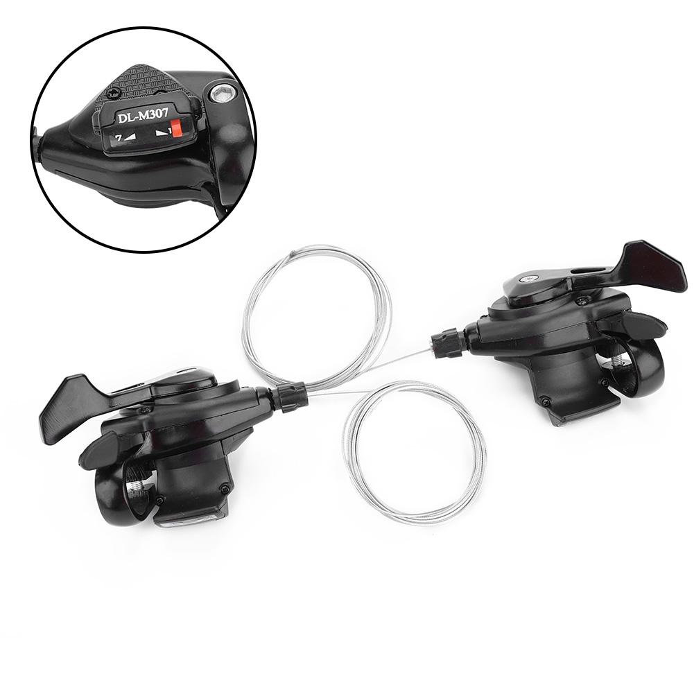 VTT Vélo Shifter Levier frein Set 2x Vélo Triple Vitesse Shifter gauche//droite