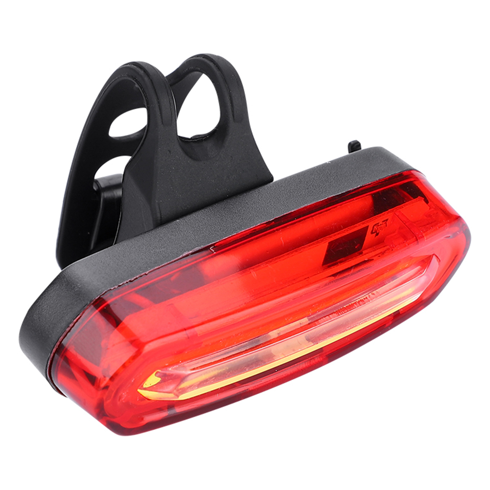 Bicycle Bike Cycling Front Rear Tail LED Light USB Rechargeable 5 Modes COB Lamp