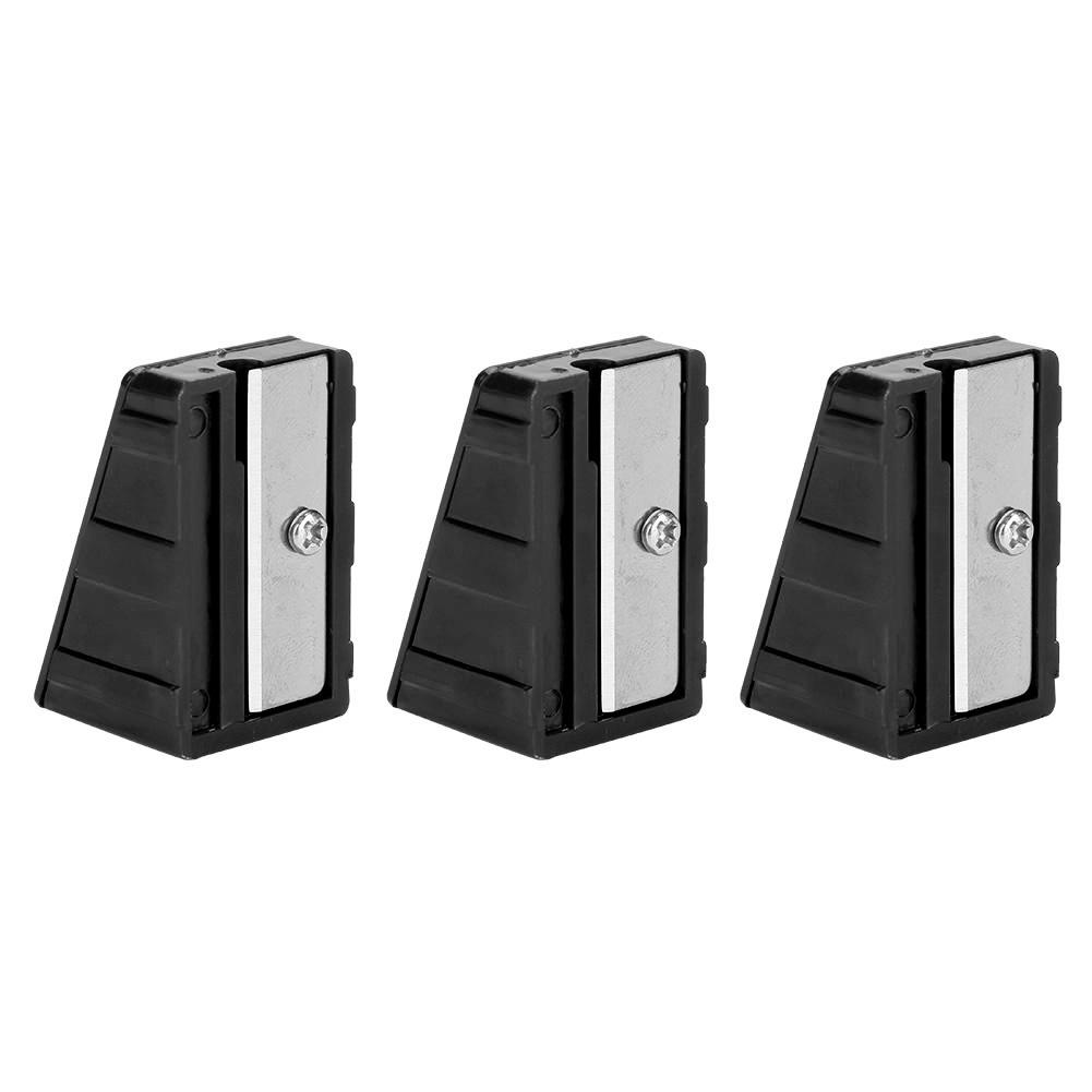 3pcs Portable Mini Billiard Cue Tip Trimmer Shaper Tapper Repair Tool Accessory
