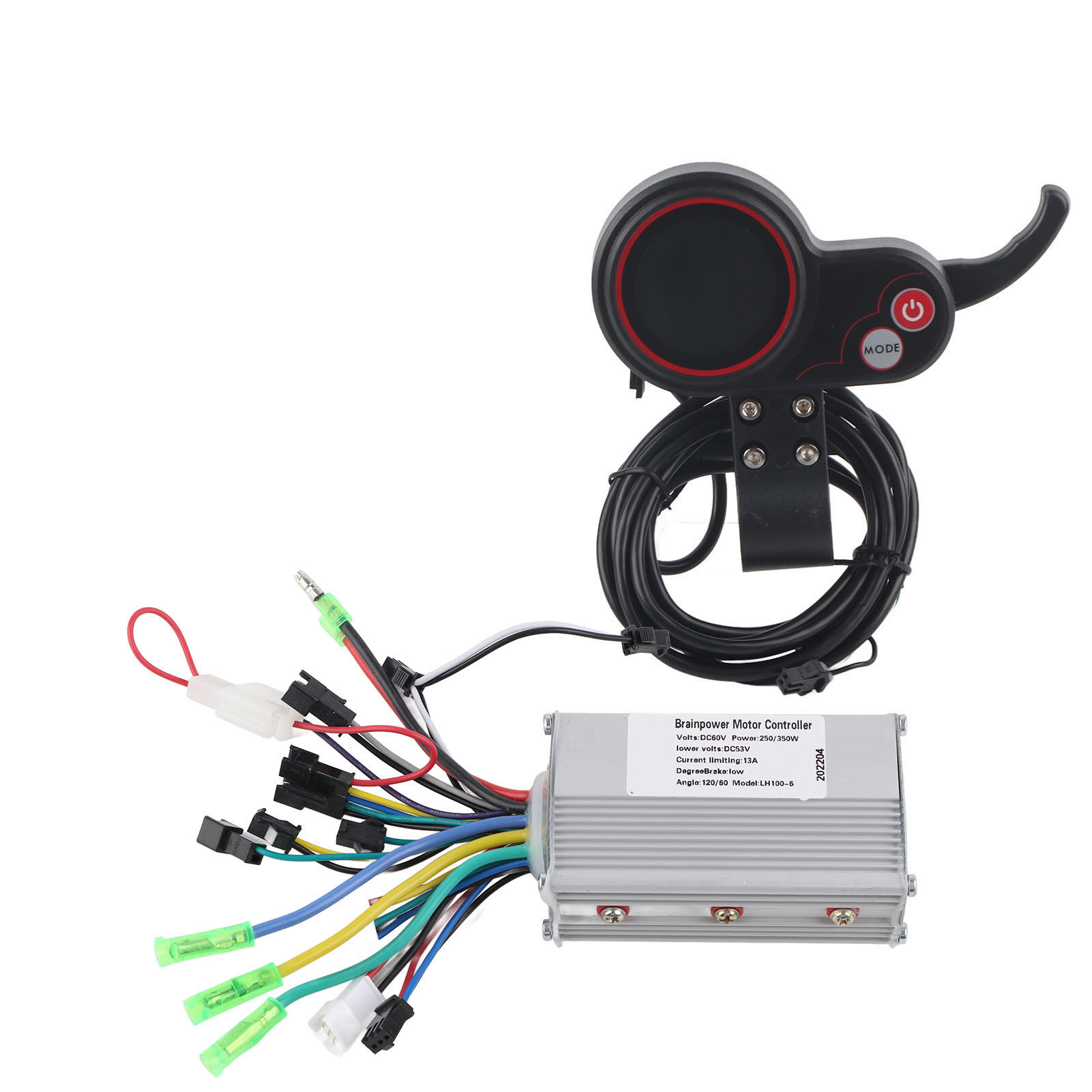 24//36//48//60V E-Bike LCD Display Panel Electric Bicycle Brushless Controller Kit