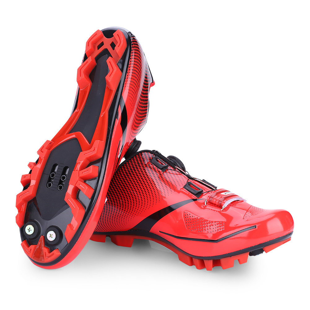 Professional Cycling Shoes Men Non-Slip Breathable Mountain Bike Bicycle Racing