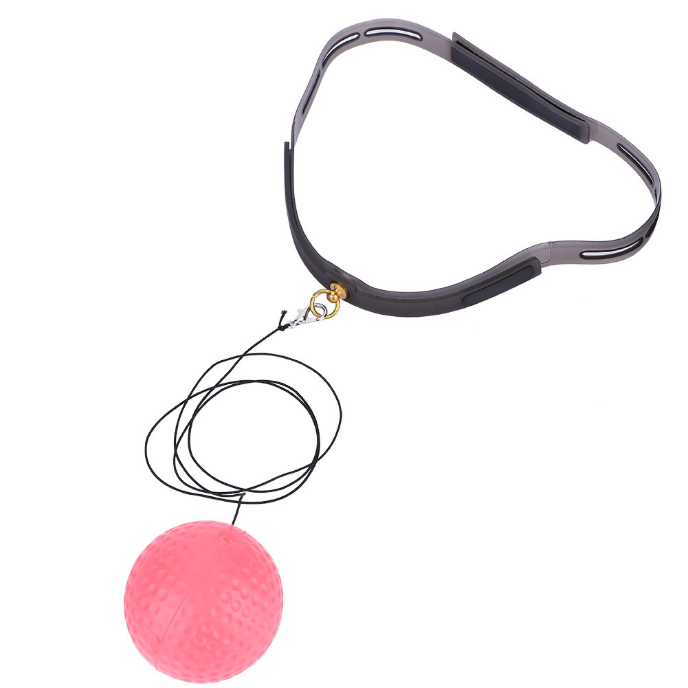 Punch Exercise Fight Ball With Head Band For Reflex Speed Training Boxing Relief