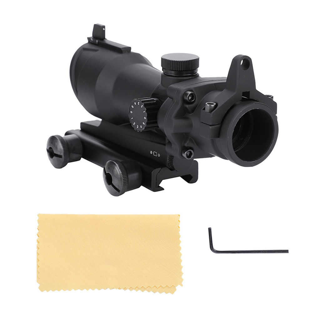 1X32 Optical Red Green Dot Sight Hunting Scope Collimator Rifle Shooting Mount