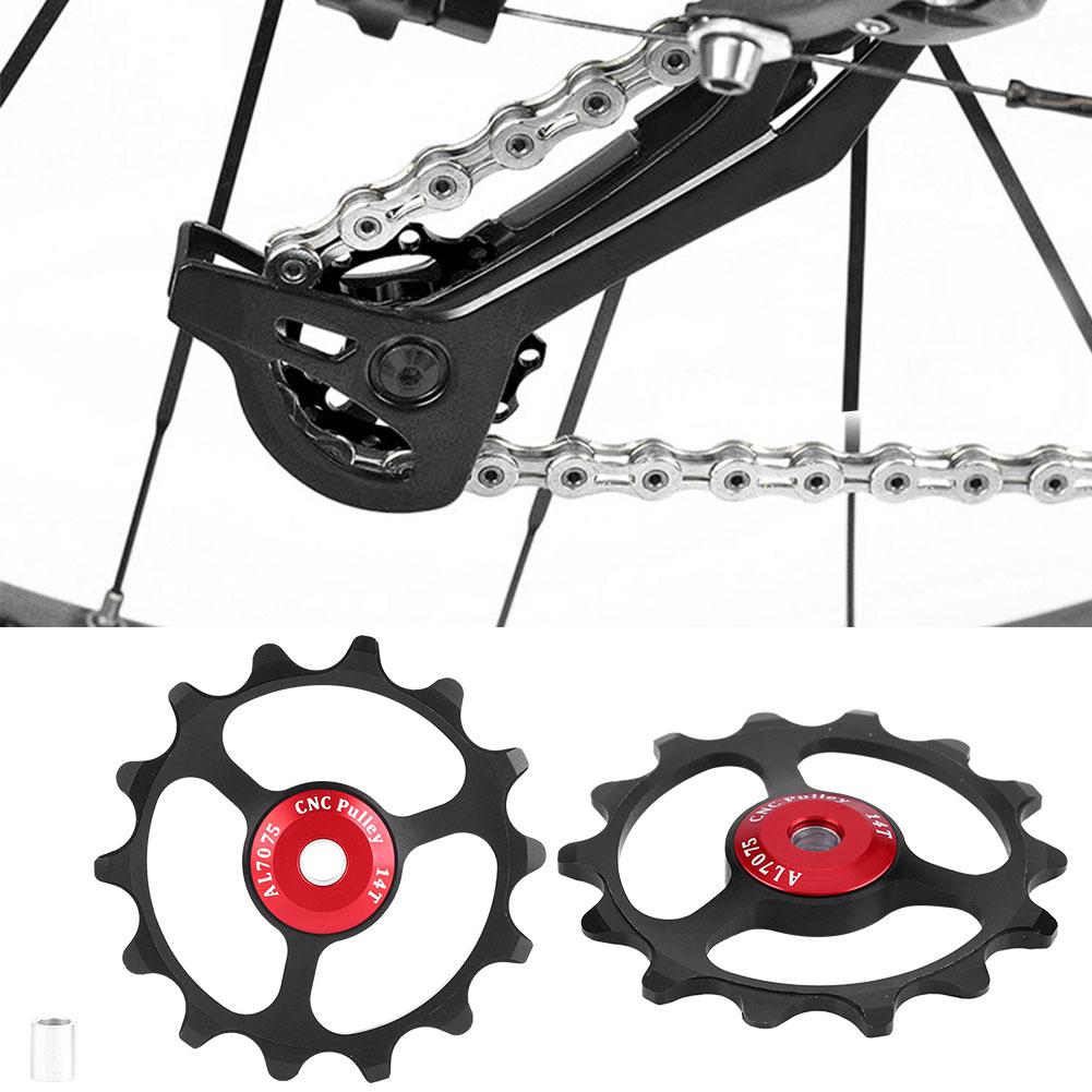 11//12//13T//14T Mountain Bike Bicycle Bearing Jockey Wheel Rear Derailleur Pulleys