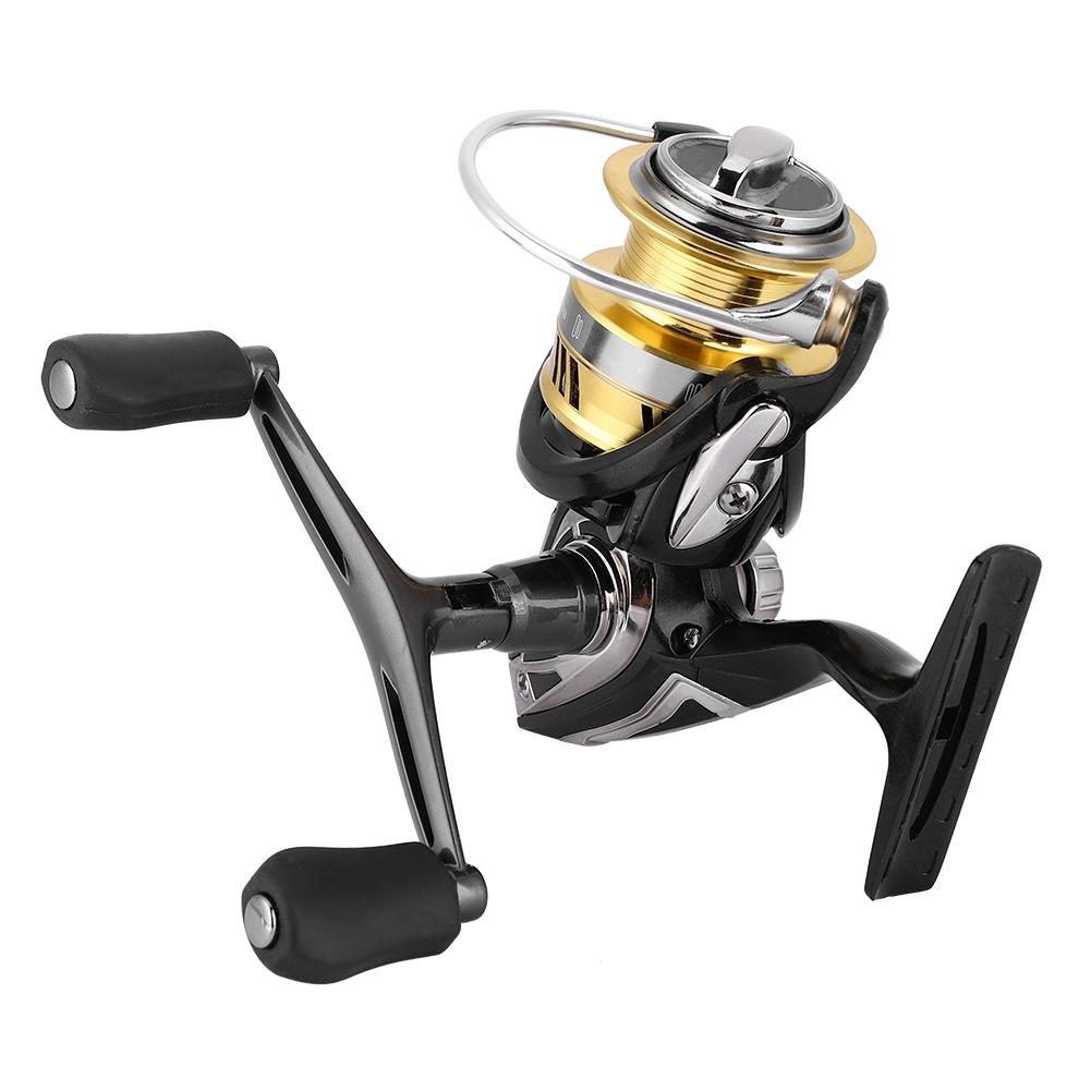 DEUKIO 7.1:1 Metal Spool Spinning Fishing Reel 5+1BB Wheel Freshwater Saltwater