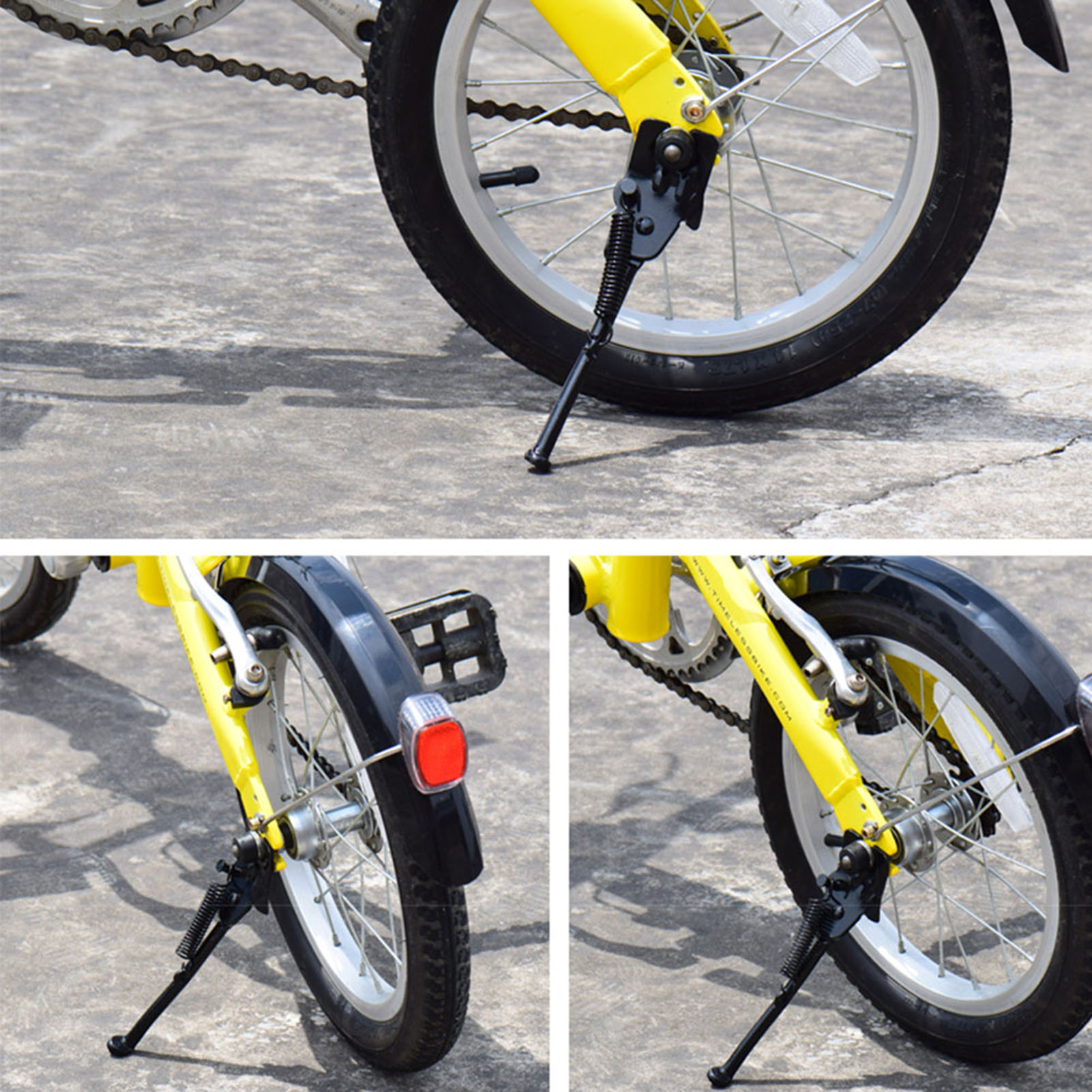 Children Bike Side Kickstand Kids Bicycle Parking Stand Leg Support Foot Brace