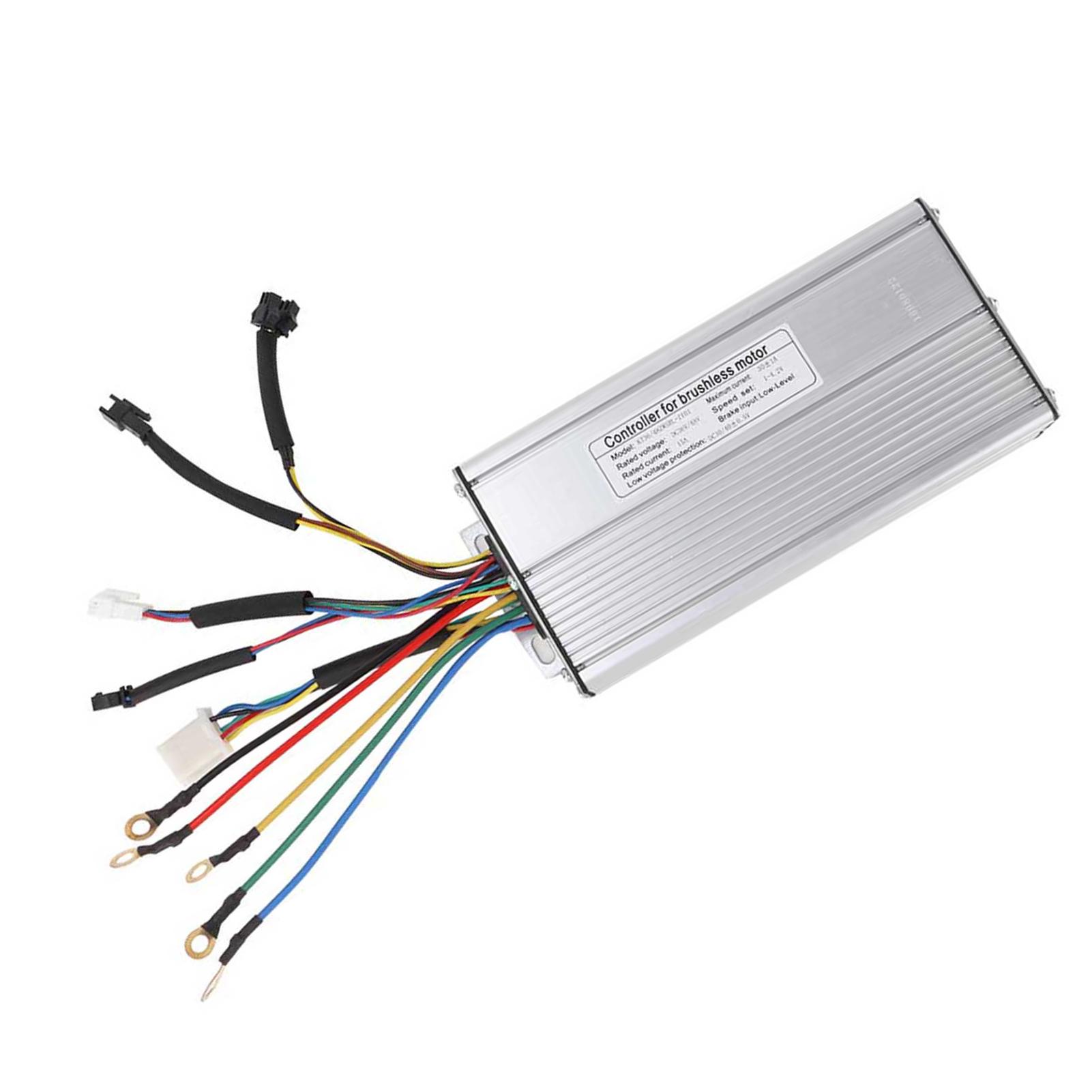 Steuergerät 24V 36//48V 250W//1500W Für Scooter E-Bike Brushless Controller Set