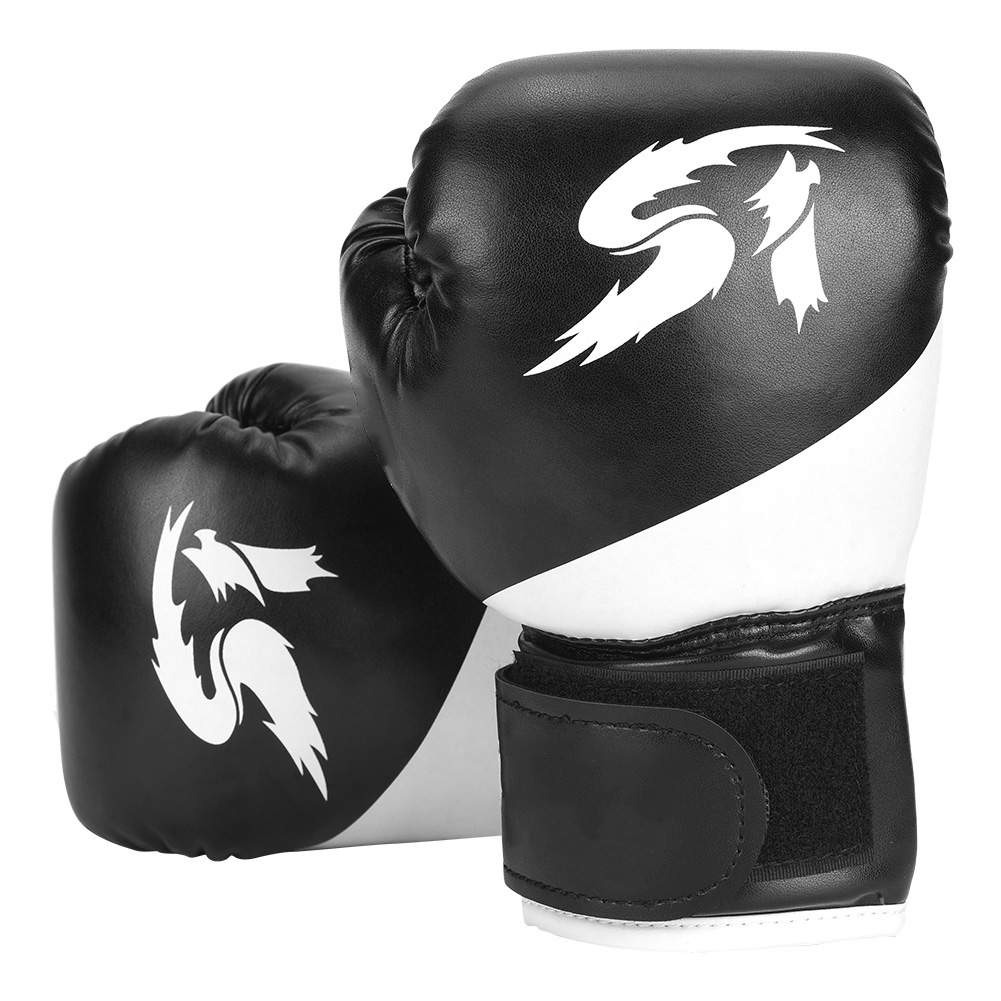 Children Adults MMA Muay Thai Training Punching Mitts Sparring Gym Boxing Gloves