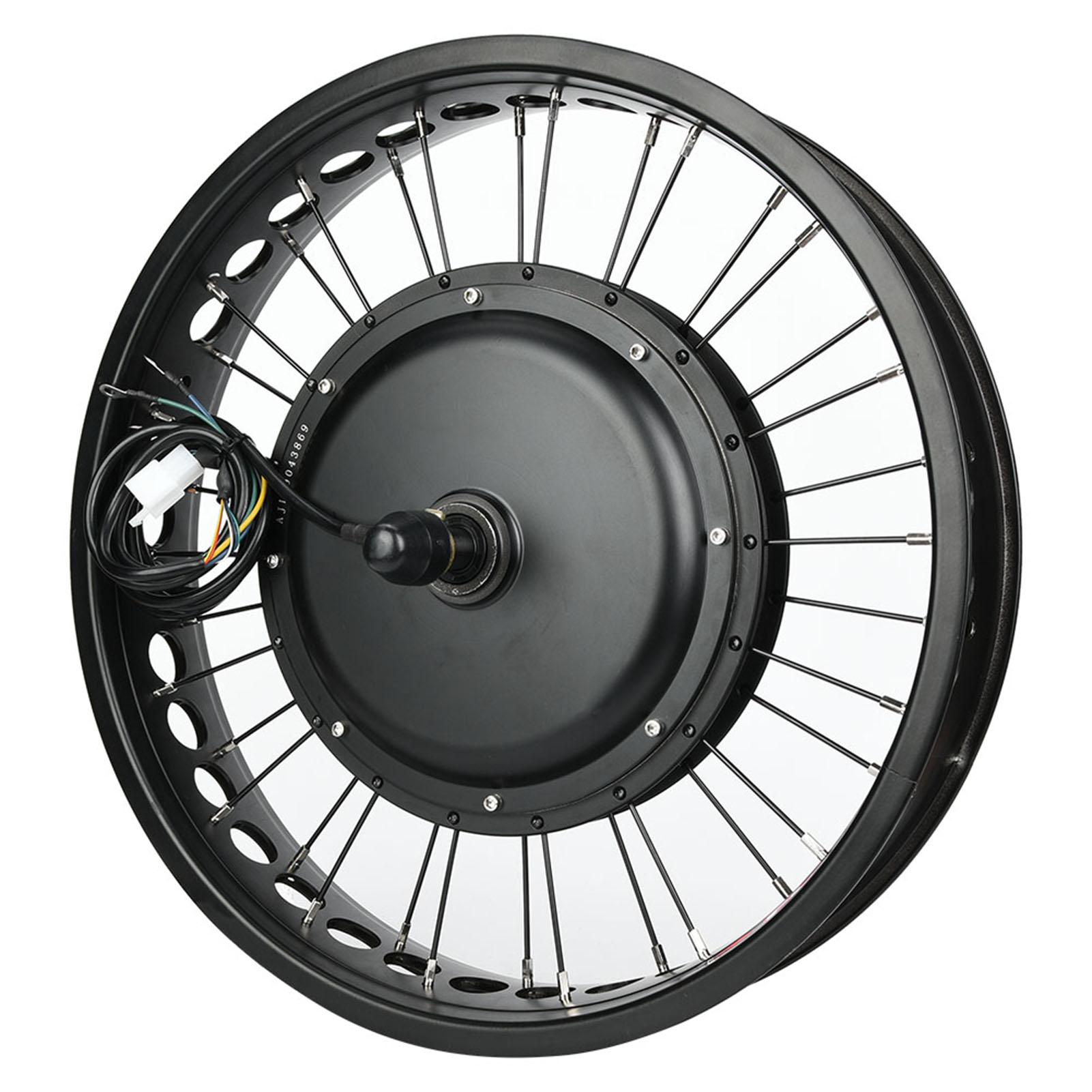 48V 1000W Electric Bike Hub Engine Motor Conversion Kit 20//26/'/' Wheel Modified
