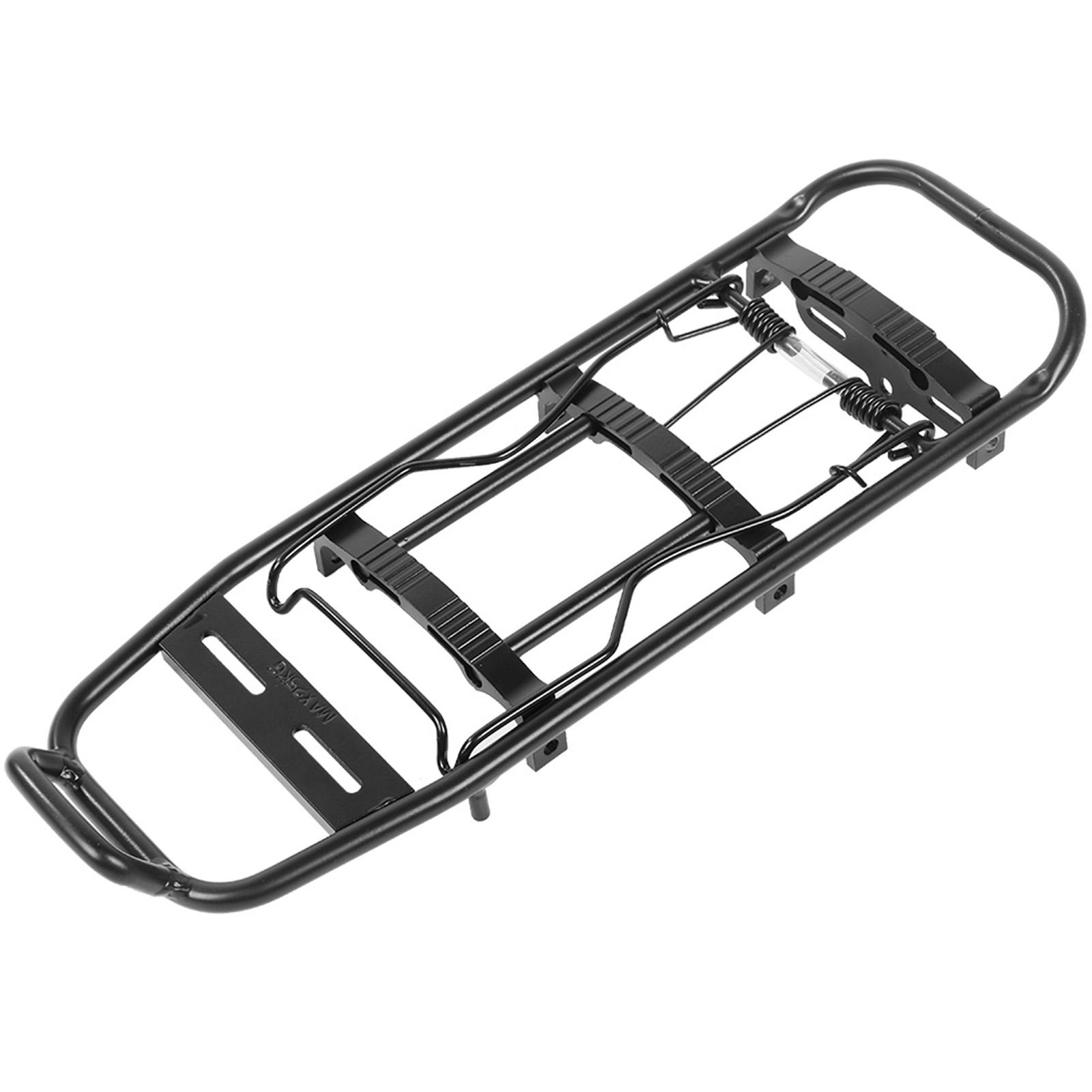 Tail Light Bicycle Mountain Bike Rear Rack Seat Mount Pannier Luggage Carrier W