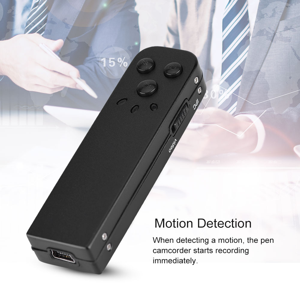 16//8GB Mini Digital Audio Voice Recorder HD Camcorder Noise Reduction MP3 Player