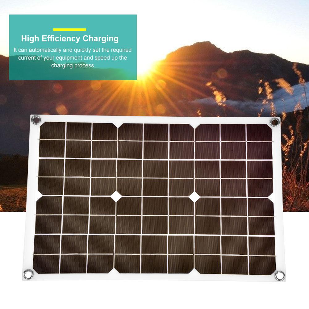 5W//10W//15W//20W Solar Panel Power Module Battery Cell Phone Charger Waterproof CF