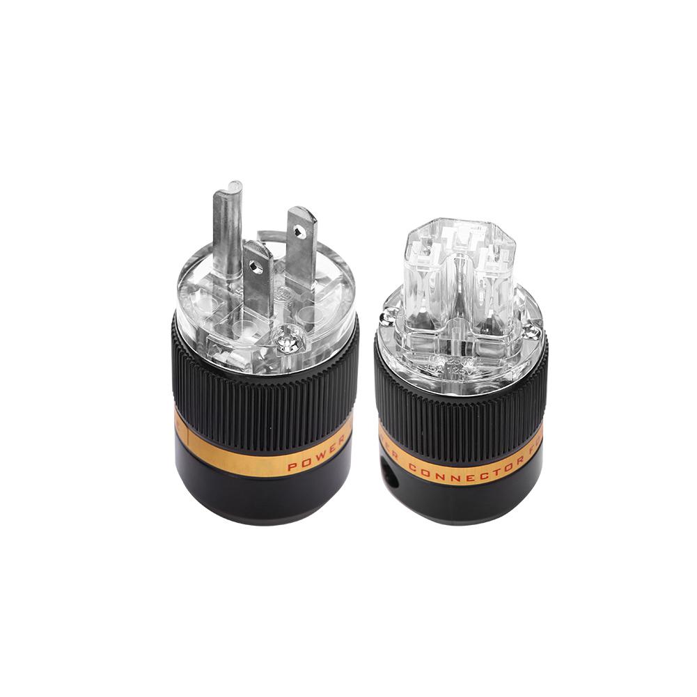 Viborg VM511R+VF511R Audio AC Power Plug Connector Anti-interference 100-240V BT