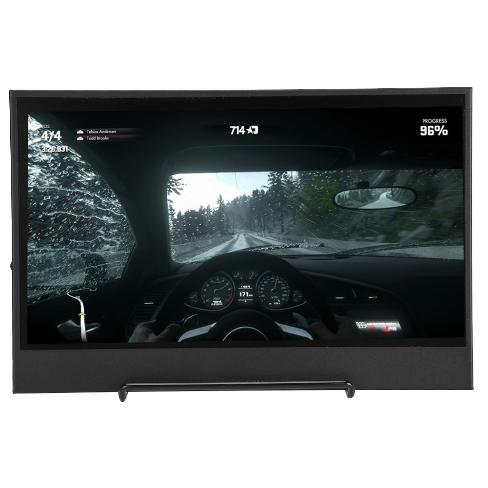 "15.6/"" HD 4K 1080P IPS LCD Gaming Monitor Display Touch Screen HDMI USB for Game"