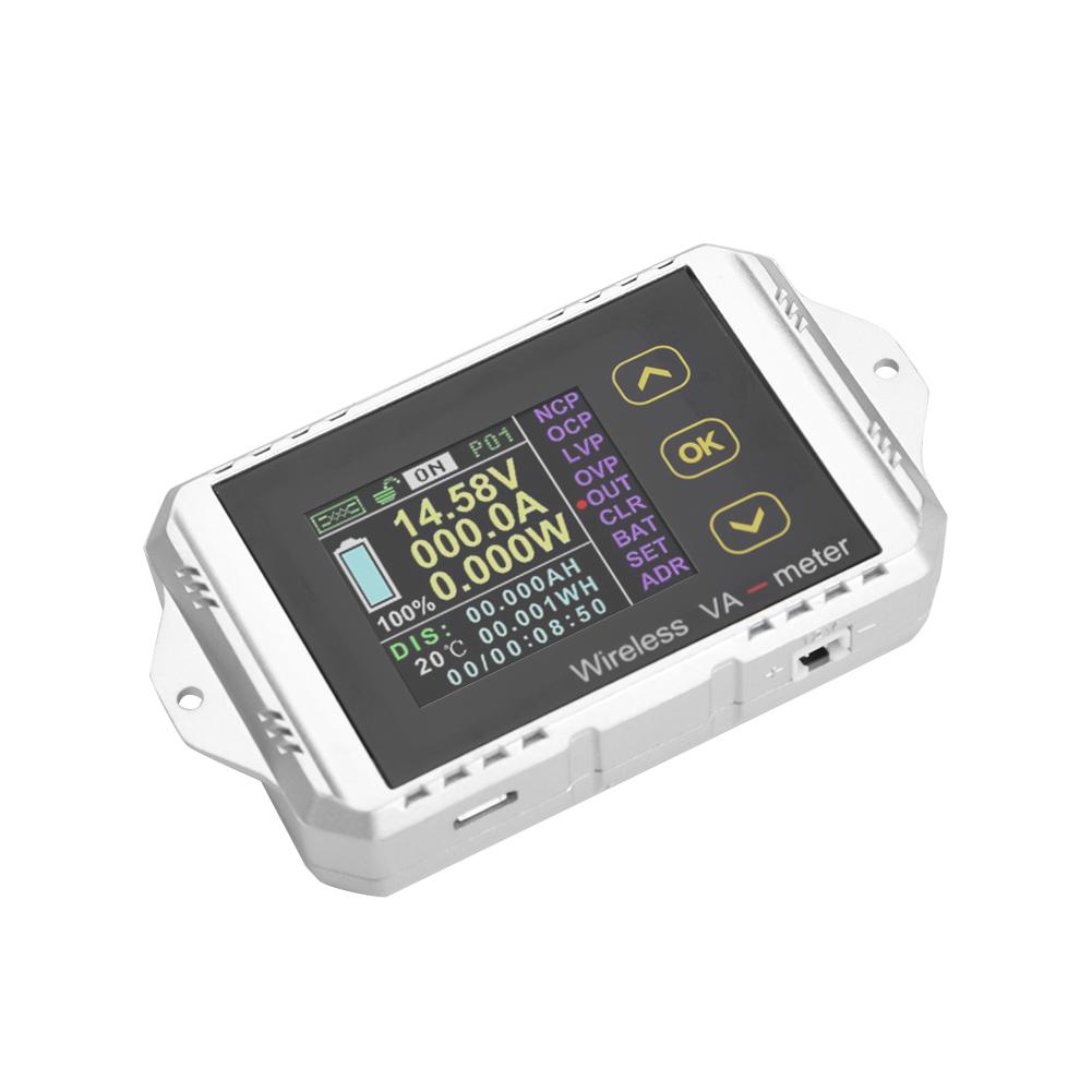 Wireless DC Voltmeter Current Tester Watt Measurement Voltmeter Spannungsprüfer