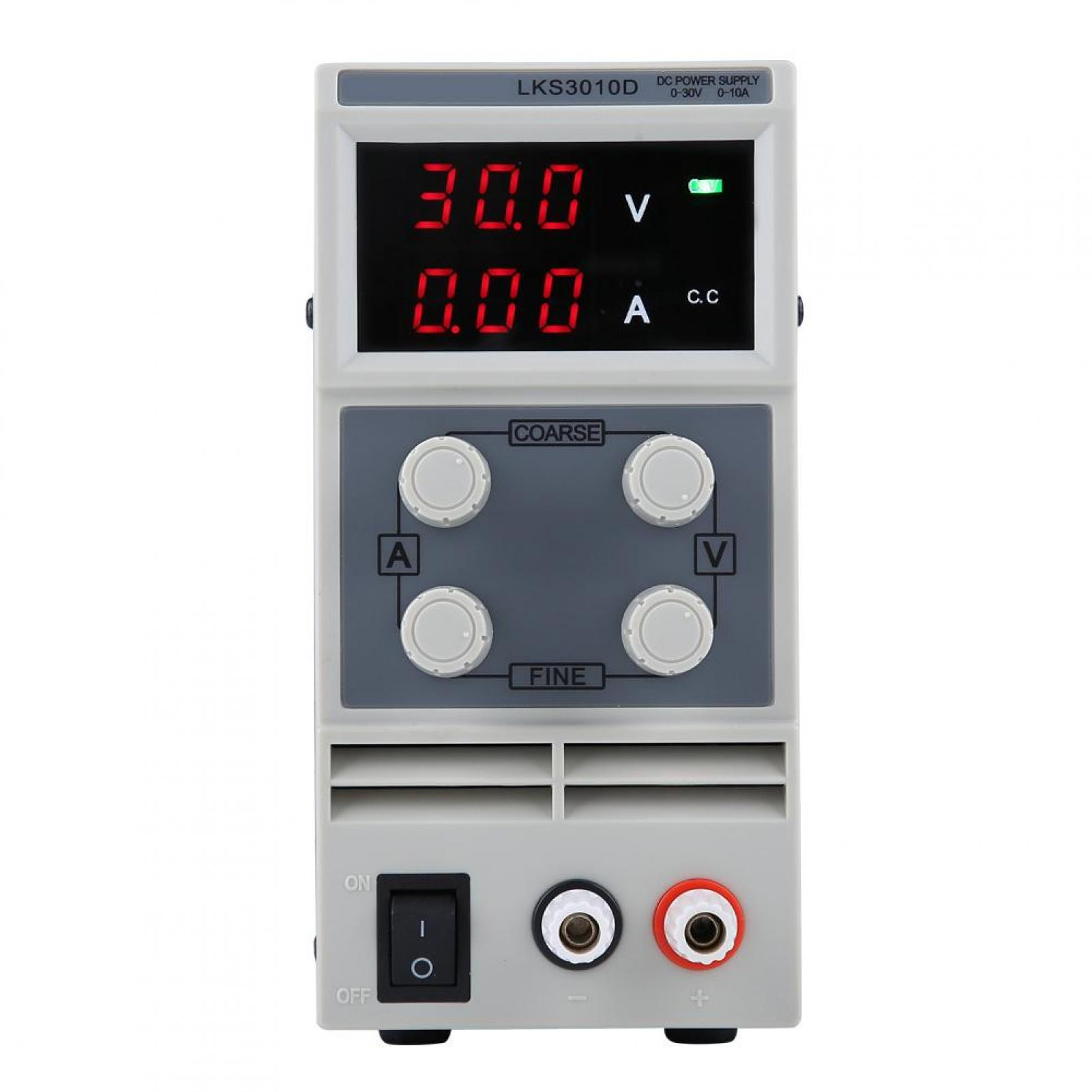 220V Alimentation de Laboratoire Linéaire DC Réglable  LKS305D//LKS3010D 110V