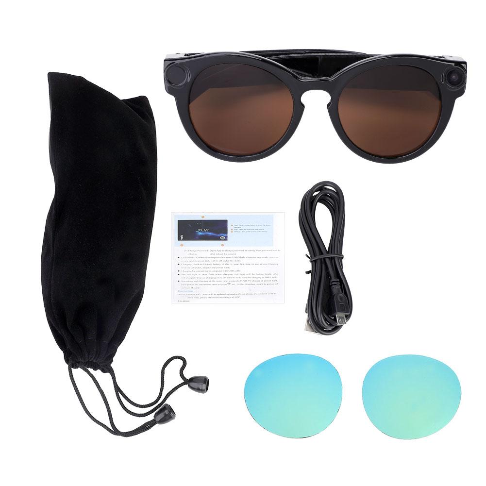 Sports Mini HD Glasses Camera Sunglasses Eyewear DVR Video Recorder Cycling Tool