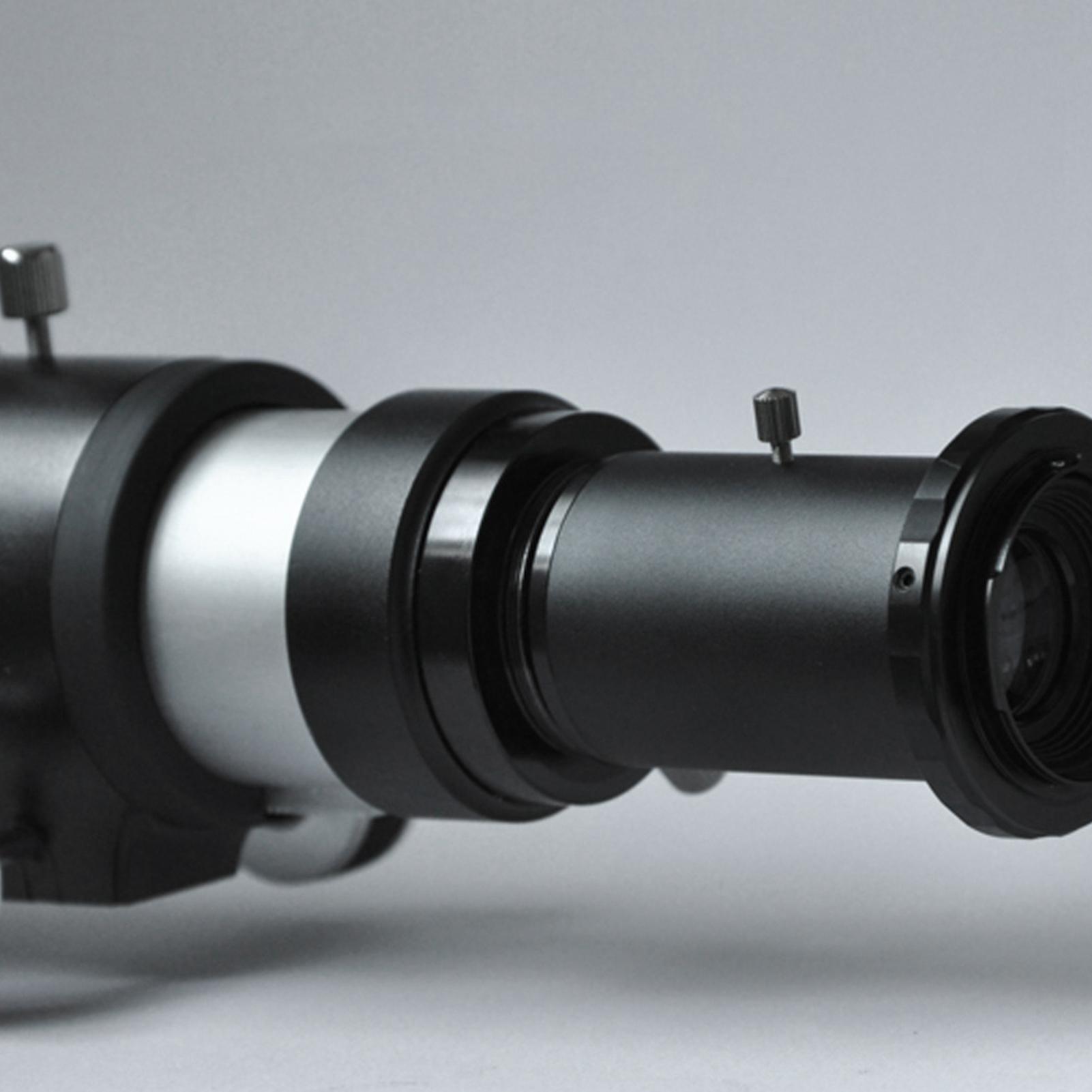 Adaptador de cámara del telescopio 1.25 pulgadas de tubo de extensión T2 Anillo para Canon EOS Cámara Nikon