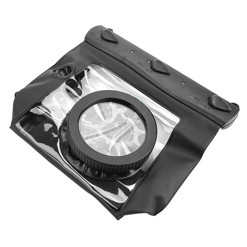 Tteoobl Impermeable Submarina Funda Seco Bolsa para cámara réflex digital SLR Canon Nikon