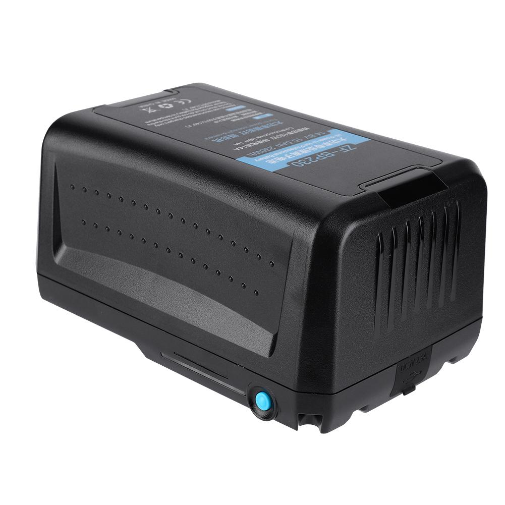 Batería De La Cámara Luz Led Para Sony BP-190 BP230 Videocámara Digital Cámara Batería