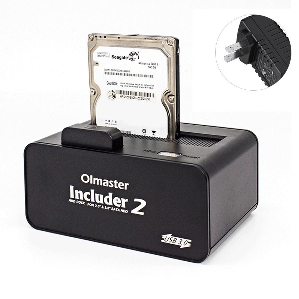 Enclosure OImaster USB 3.0 to SATA Hard Drive Docking Station HUB ...