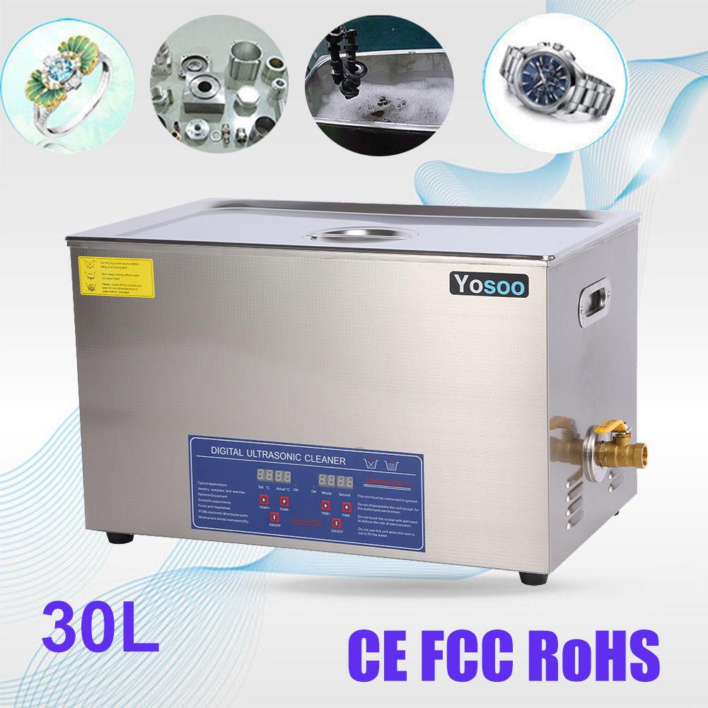 30L Ultraschallreinigungsgerät Ultraschallreiniger Ultrasonic Digital WOW AT-09