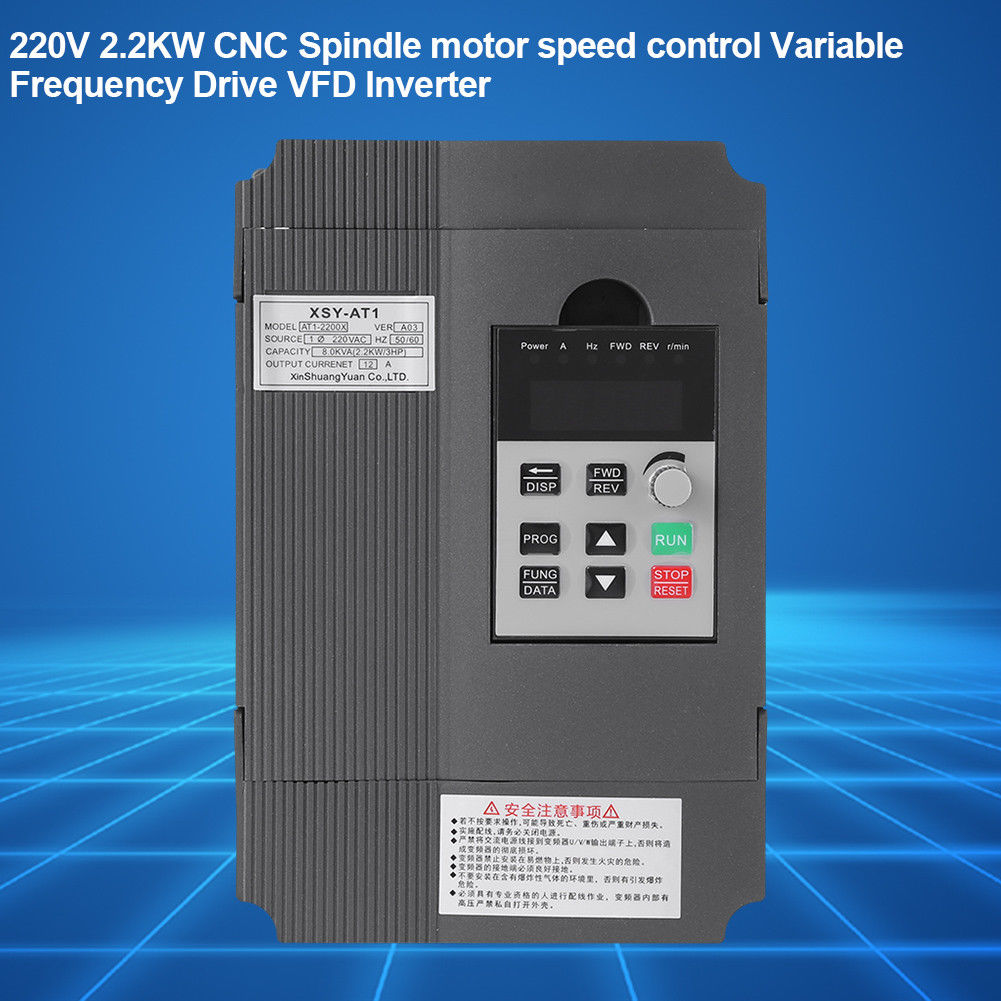 Single//3-Phase Motor Governor Variable Frequency Drive Inverter CNC 220//380V Hot