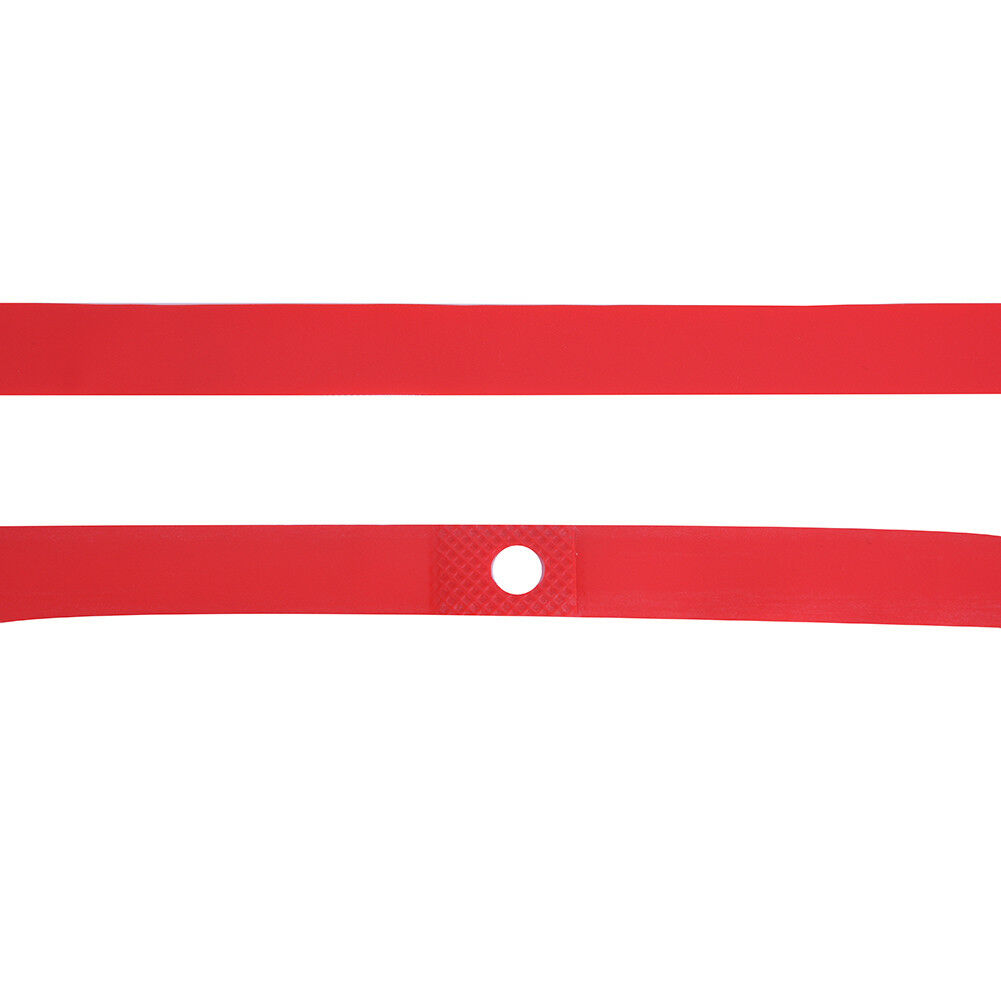 2pcs PVC Bike Bicycle Anti-pressure Proof Belt Tyre Protector Tire Liners Red DD
