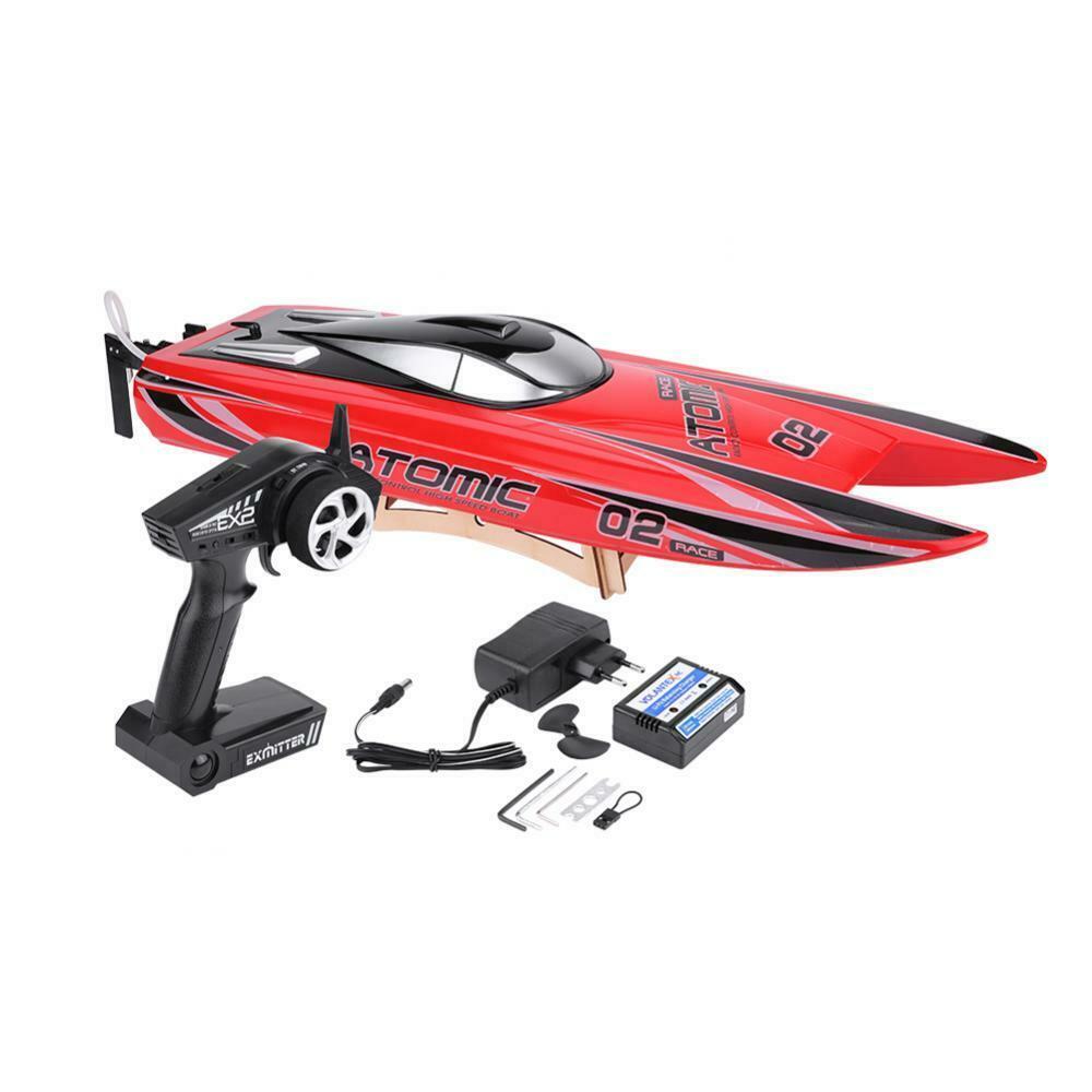 Volantex Racing RC Boat V792-4 70cm ATOMIC 2.4G Brushless RTR 60km//h Speed xxl