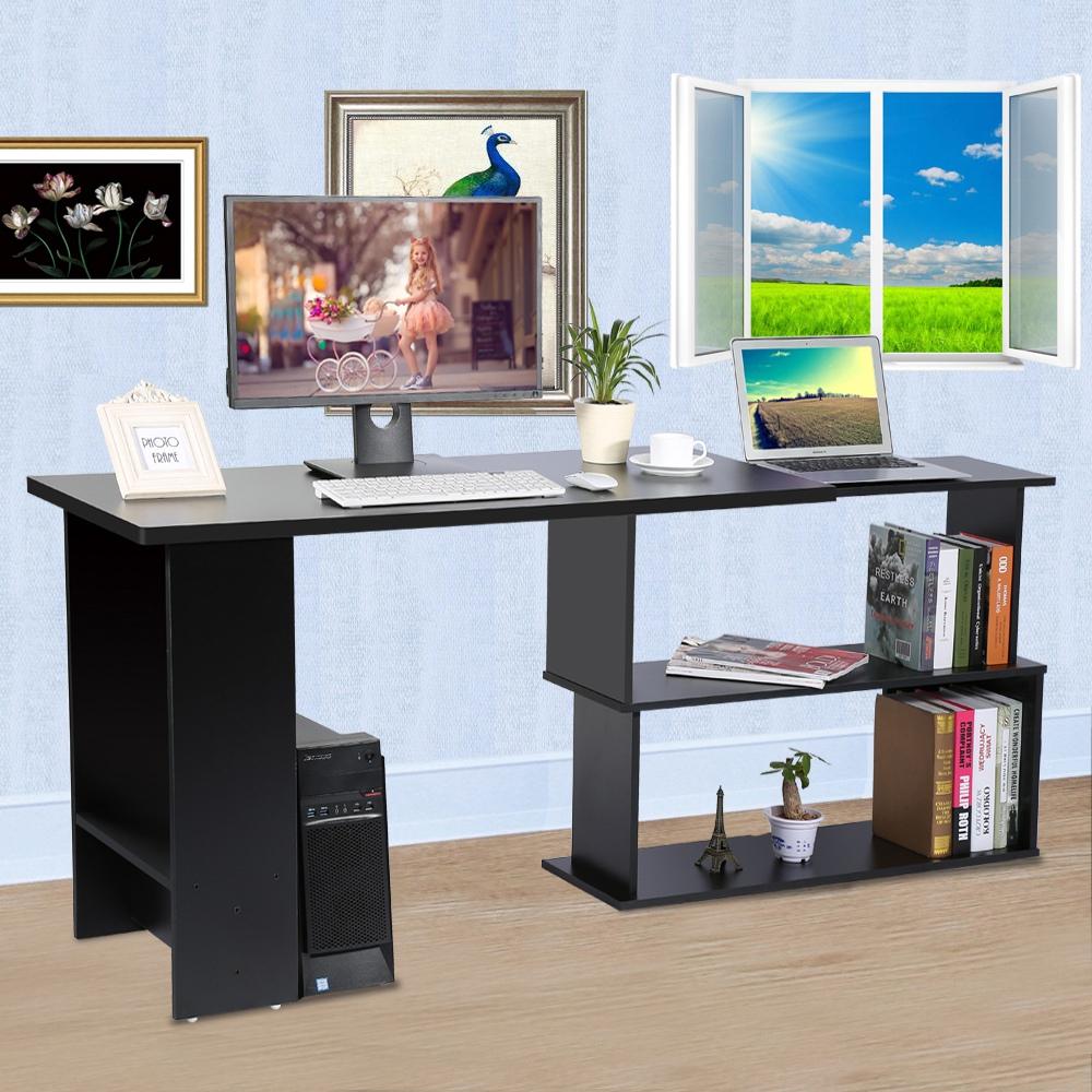 Big Pc Desk Modern Desk Small Space