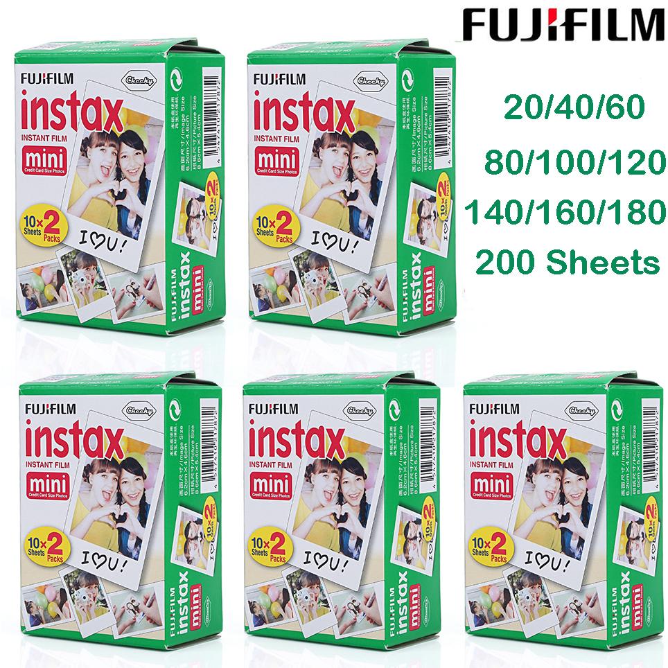 Fujifilm-Instax-Mini-White-Film-Fuji-7s-8-50-90-SP1-Polaroid-300-Instant-Photo-G