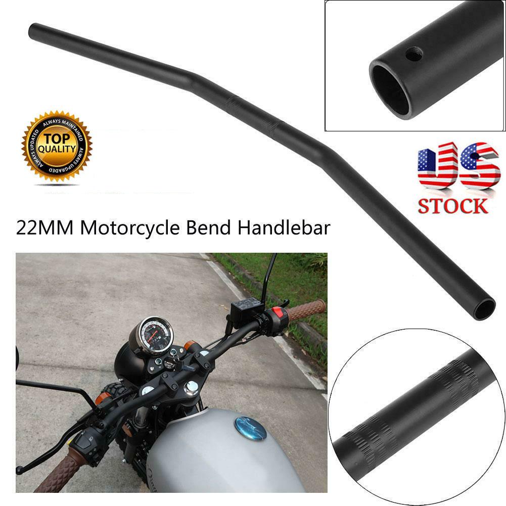 "Motorcycle 7//8/"" 22mm Handlebars Tubes Aluminium Universal Handle Bar"