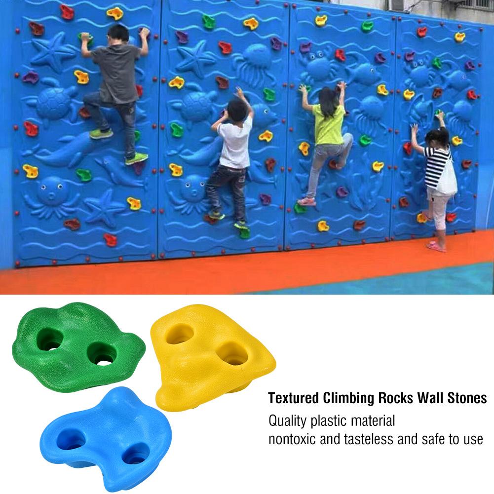griffen für Kinder Kletterwänd H1O5 1×  Klettersteine Kinder Kunststoffgriffe