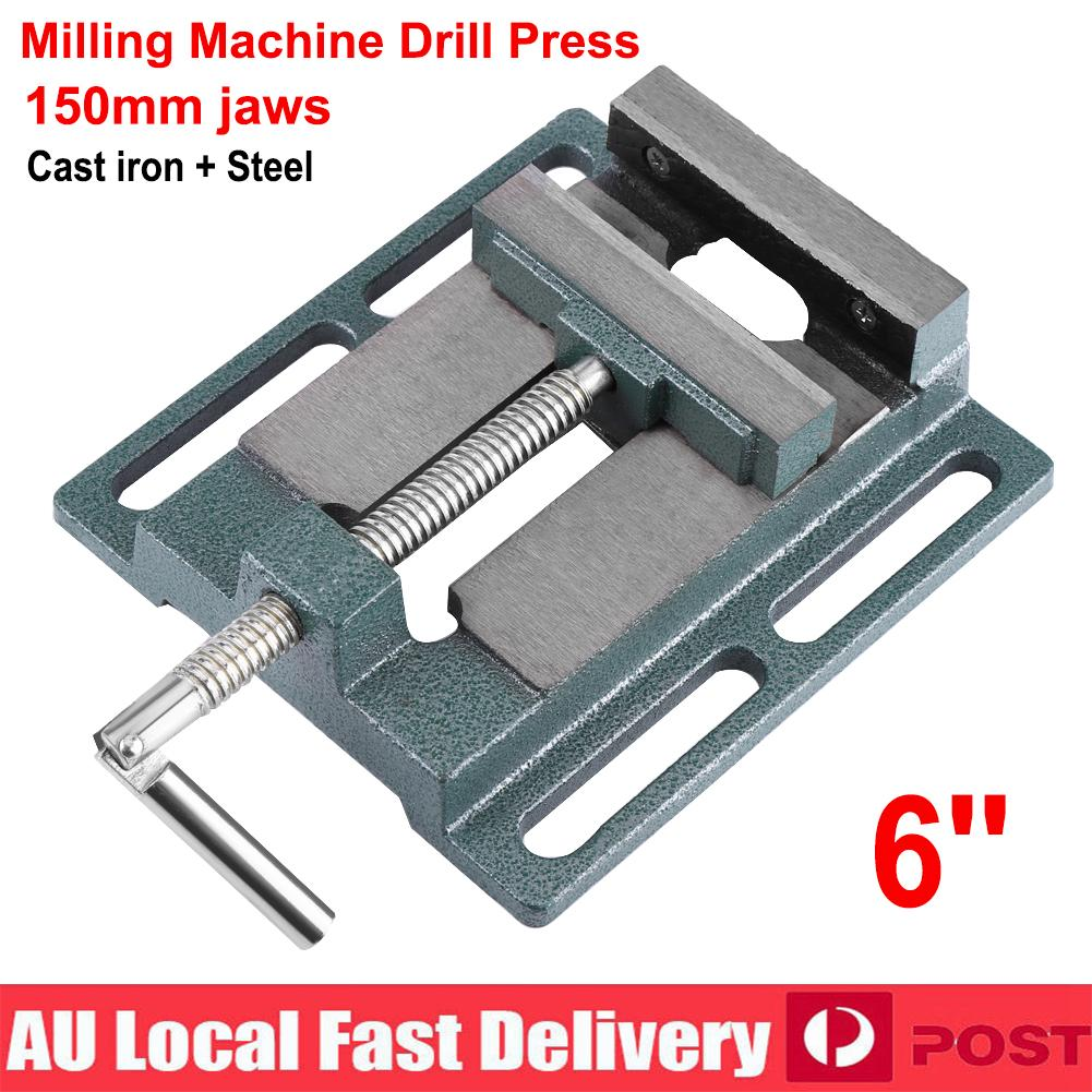 Pleasant Details About 6 150Mm Drill Press Vice Bench Vise Clamp Milling Machine Maintenance Tool Gmtry Best Dining Table And Chair Ideas Images Gmtryco