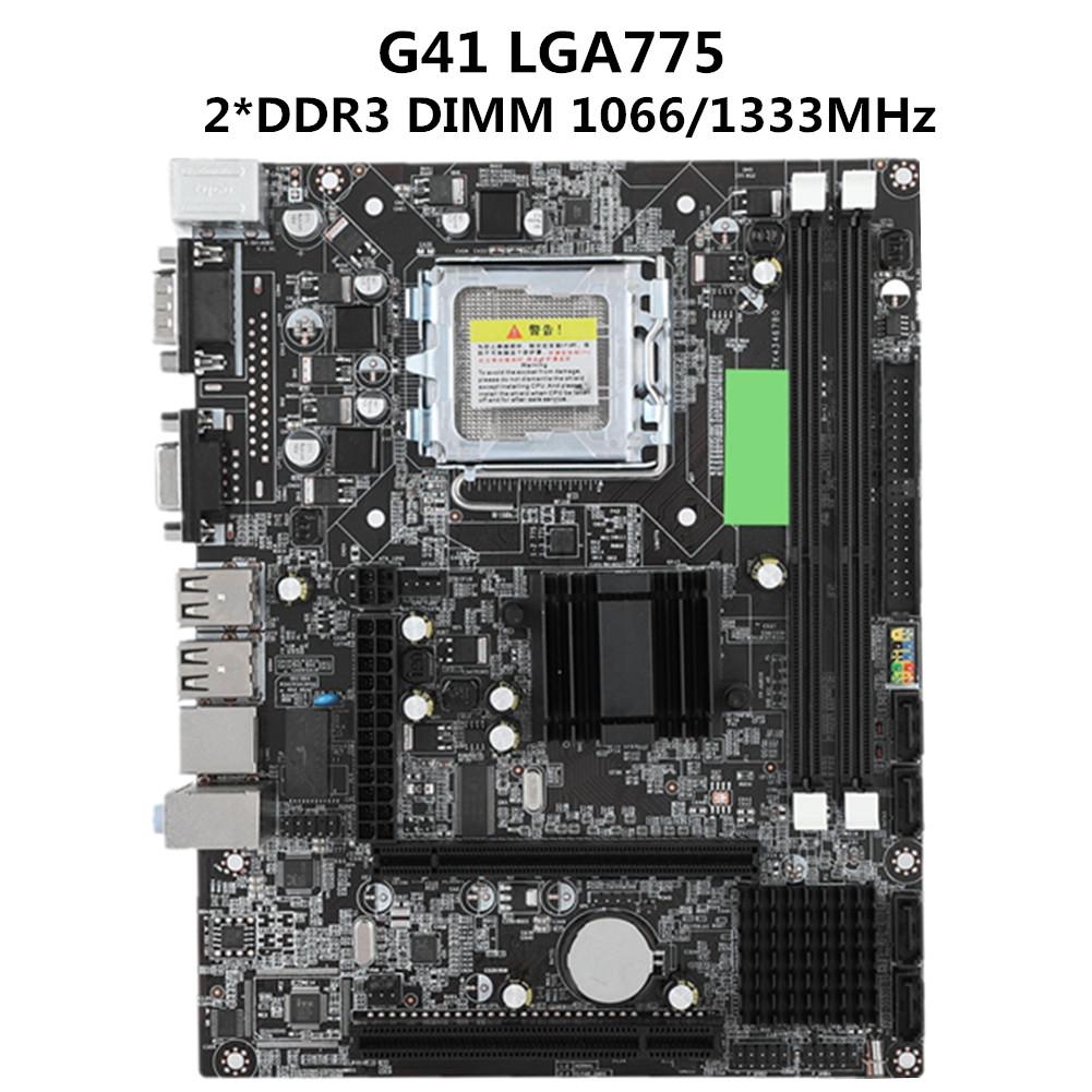 PC Motherboard For Intel LGA 775//1150//1151//1155 Socket DDR3 PCI-E X16 SATA 3 USB