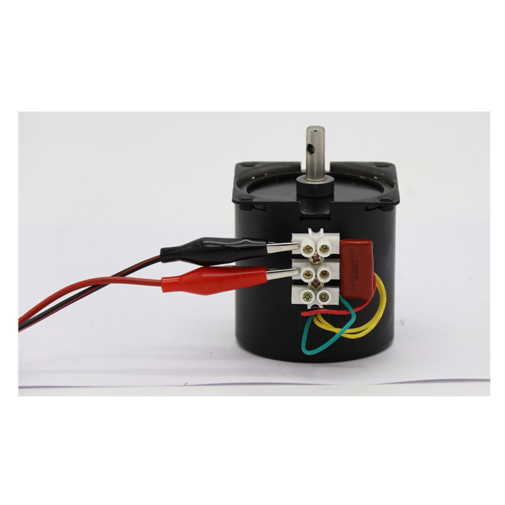 Motoriduttore 110RPM Elettrico Magnete Permanente Motore Sincrono Gear 220V 50HZ
