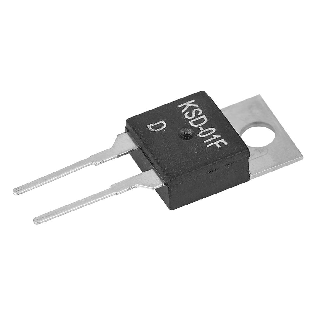 JUC-31F KSD-01F Thermoschalter N//C Temperaturschalter 40-130℃ 220VAC 24VDC 1.5A