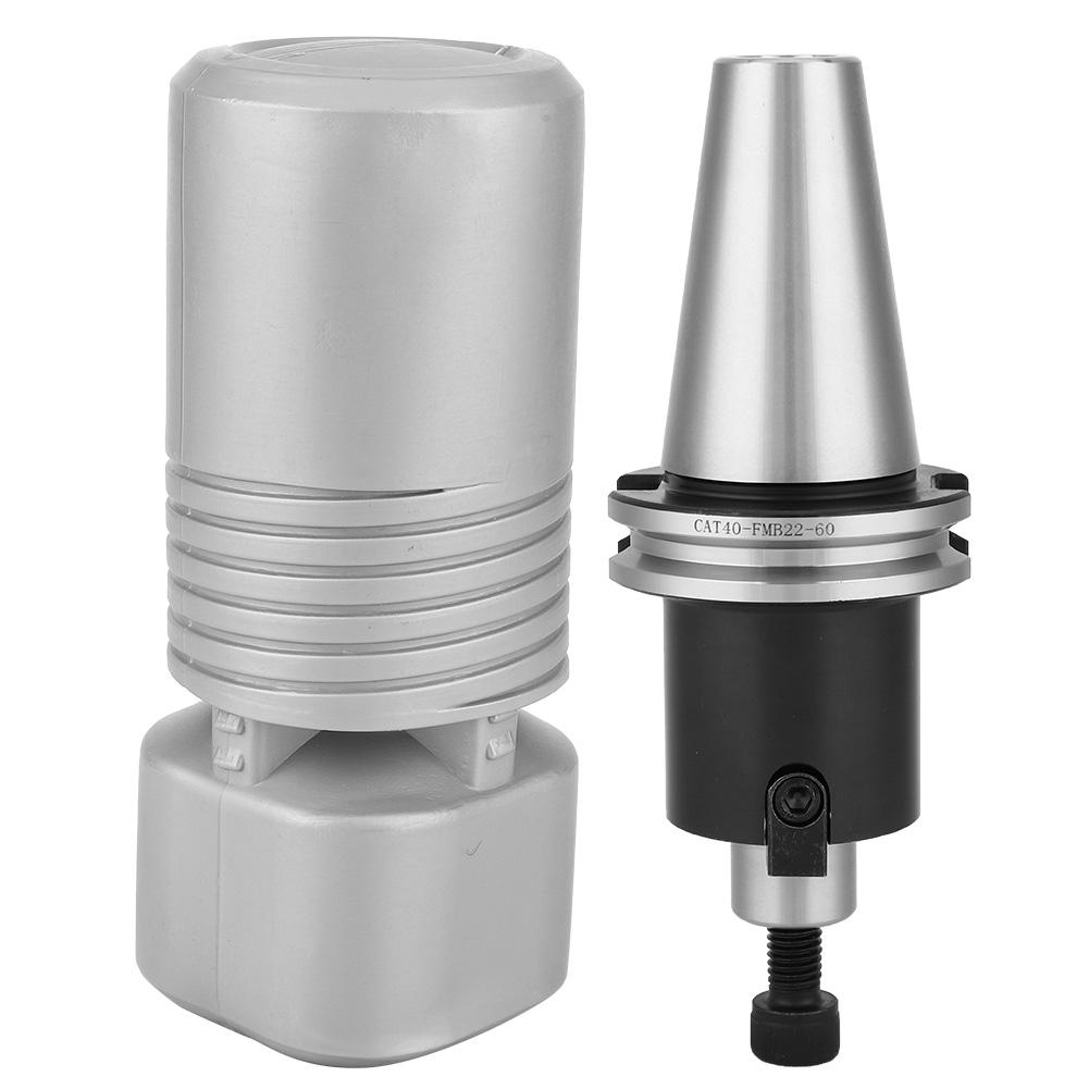 CAT40-FMB-L60-CAT40-Face-Mill-Arbor-Shell-Morse-taper-for-Milling-Machine-G thumbnail 9